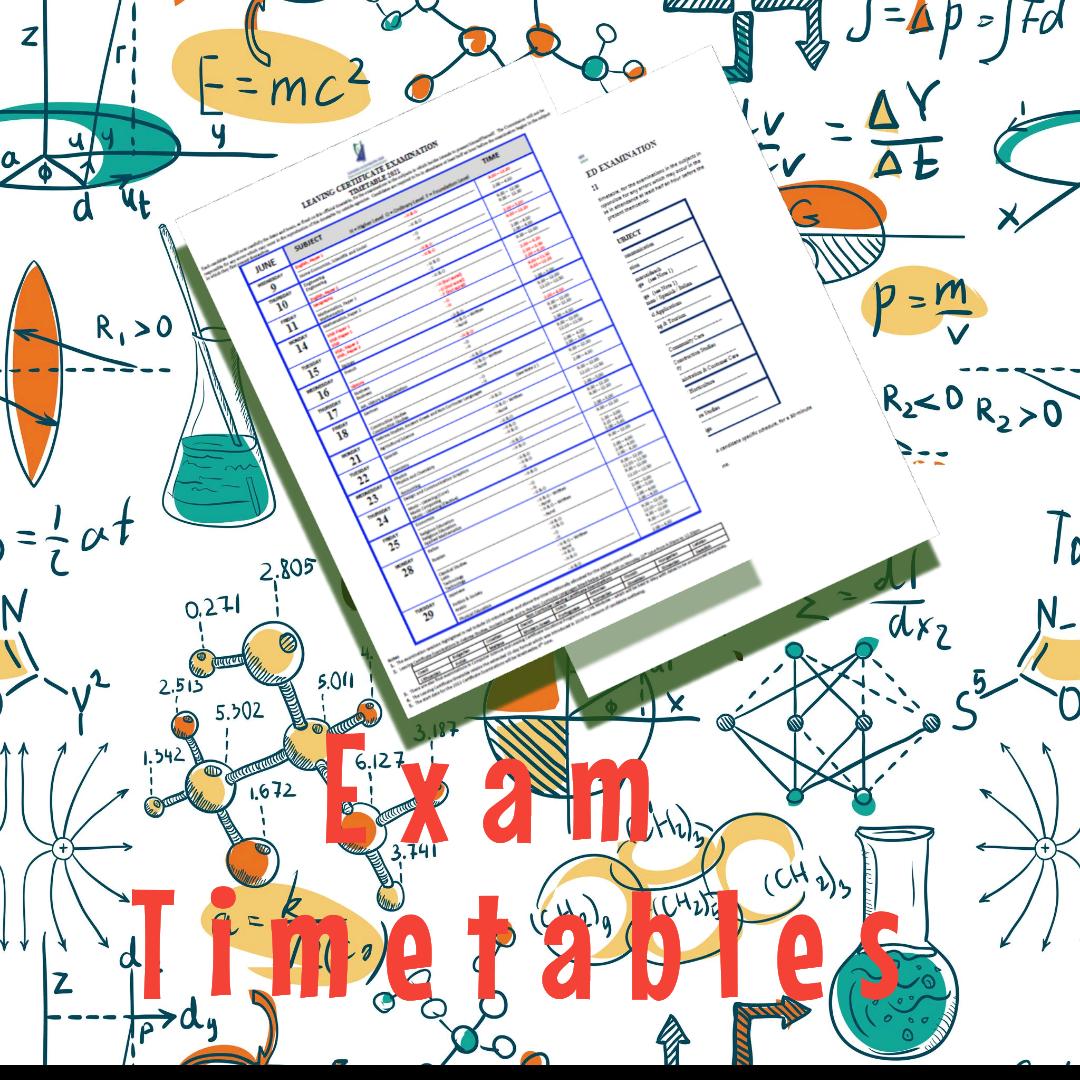 exam timetable icon