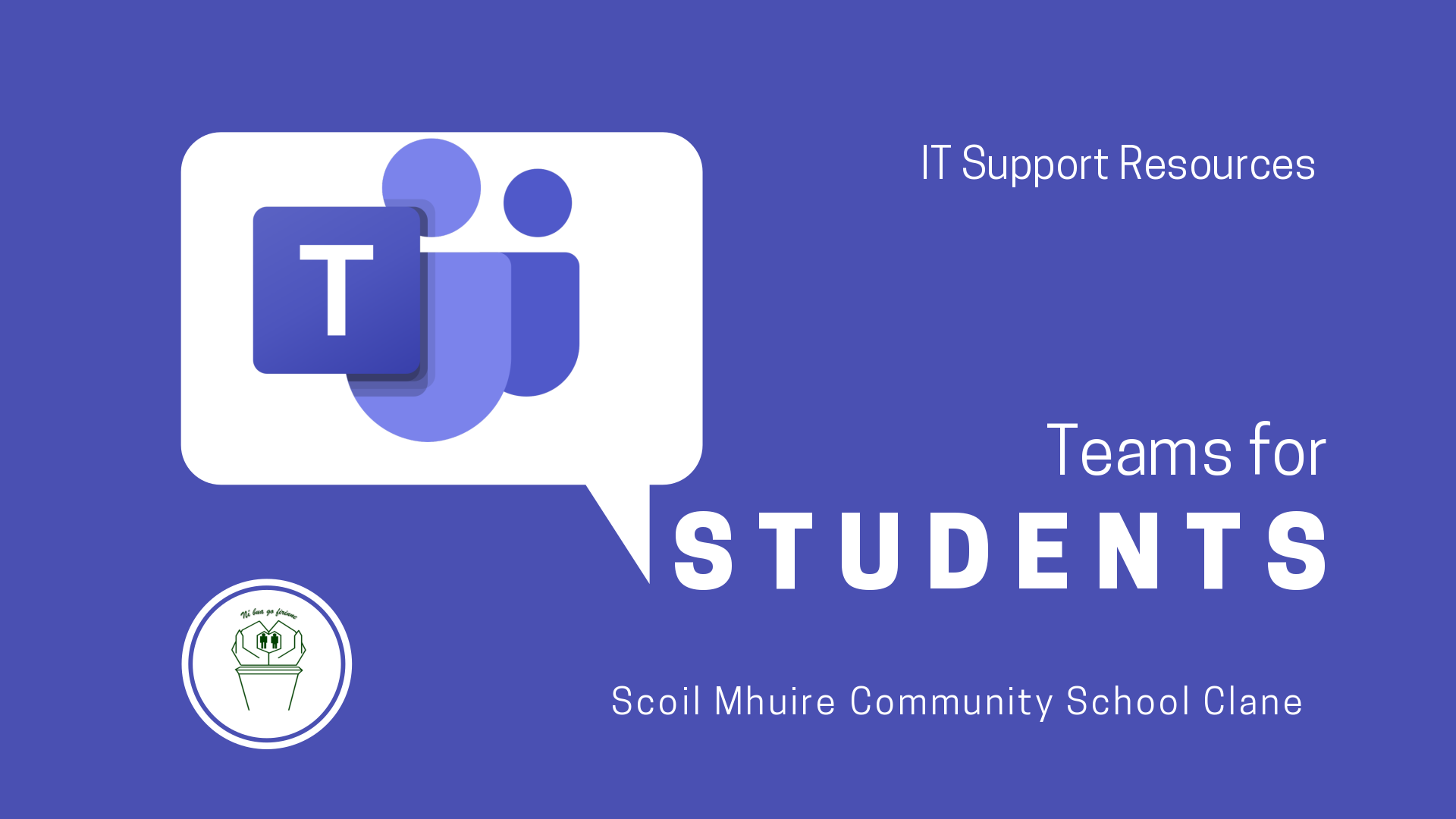Teams IT Support Students
