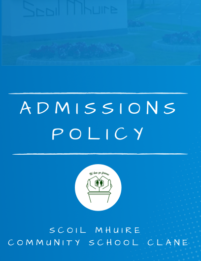 Admissions Policy Cover