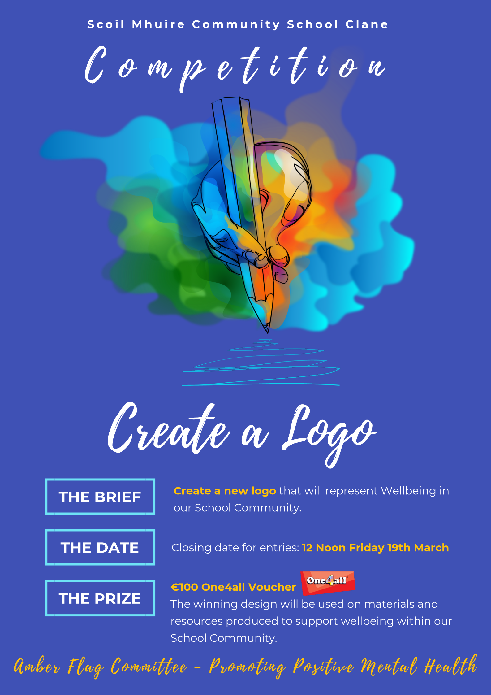 Create a Logo Competition Poster